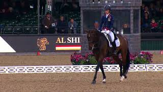 Charlotte Dujardin's winning FEI Al Shira'aa Grand Prix Freestyle to Music
