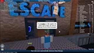 ROBLOX pt.3 Flood Escape [TRAINING]