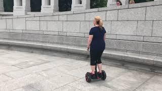 Segway Ninebots Are Everywhere, World War 2 Memorial, Washington DC 🇺🇸