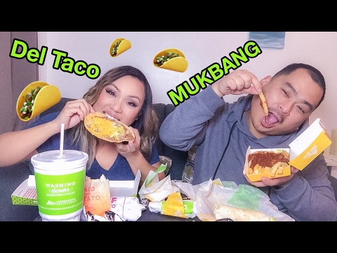 Mukbang with my Boyfriend: Late night Del Taco run.
