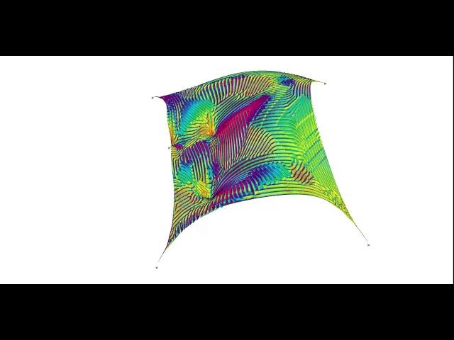 Equidistant Flowlines Mesh_02 c
