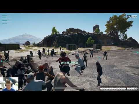 Jump Around! Pubg Lobby Party!