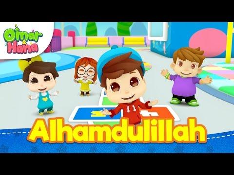 Lagu Kanak-Kanak Islam | Alhamdulillah | Omar & Hana | Diceriakan Oleh Wildan