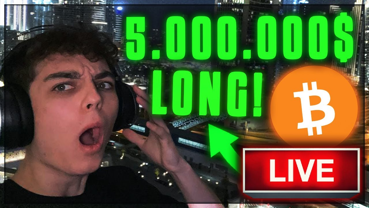 OMG!!! WAS PASSIERT MIT BITCOIN... 5.000.000$ BITCOIN LONG!