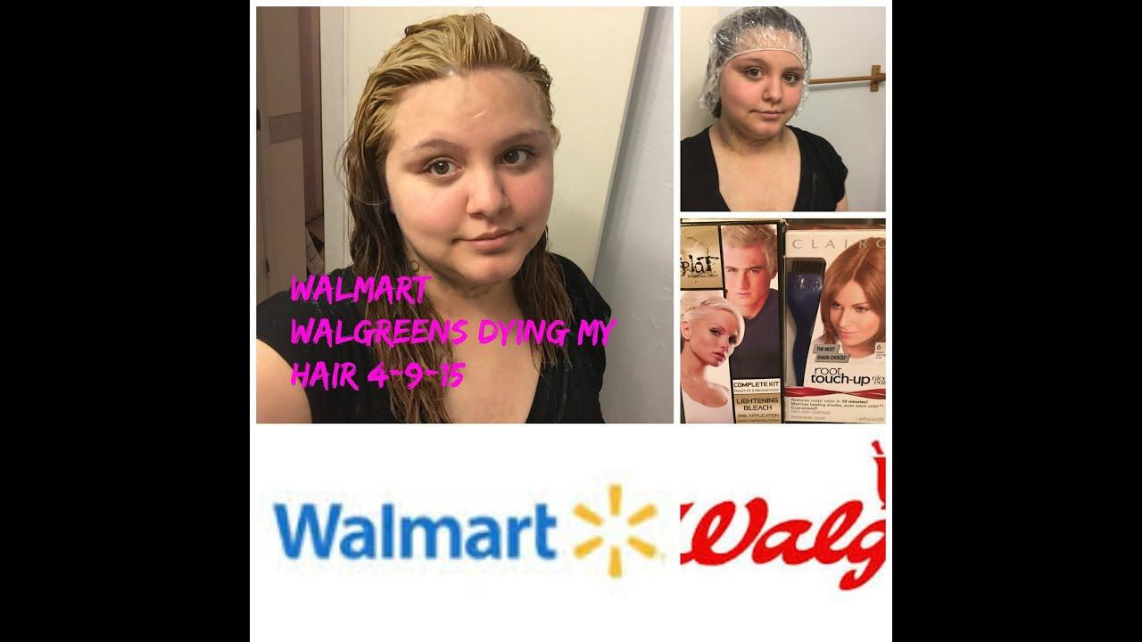 Walmart Walgreens Dying My Hair 4 9 15 Youtube