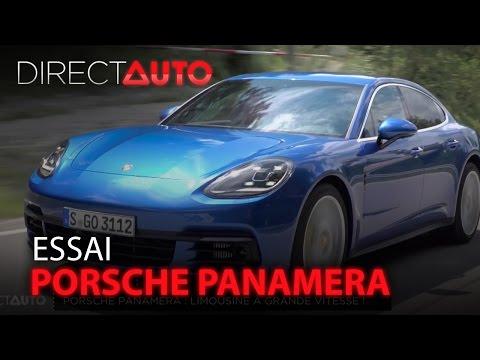 Essai - PORSCHE PANAMERA : Limousine à grande vitesse !
