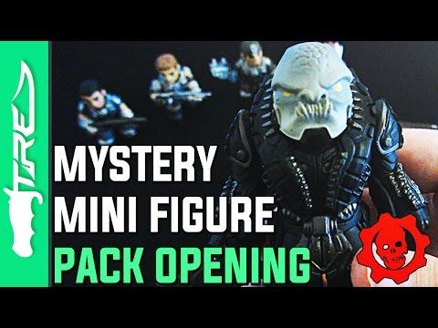 Gears of War 4 Mystery Mini Vinyl Figure Unboxing - 9 GEARS OF WAR PACKS! (Gears of War 4 Funko)