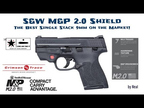 M&P Shield 2 0 Crimson Trace - Is the Shield 2 0 the Perfect CCW?
