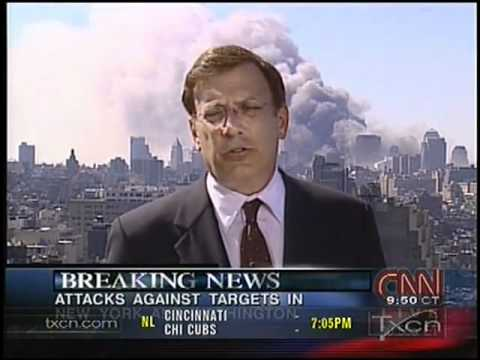 9/11 News Coverage - Texas Cable News TXCN September 11, 2001 10:45am - 11:00am