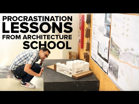 Procrastination Lessons Learned from Architecture Studio - Pat at Cal (Video 2)