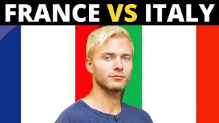 FRANCE VS ITALY 10 biggest differences