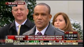 AMAZING VIDEO: Small Business Owners HEAP PRAISE on POTUS TRUMP after White House Meeting