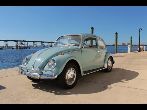 1967 Volkswagen Beetle Sedan with only forty-nine thousand actual miles.