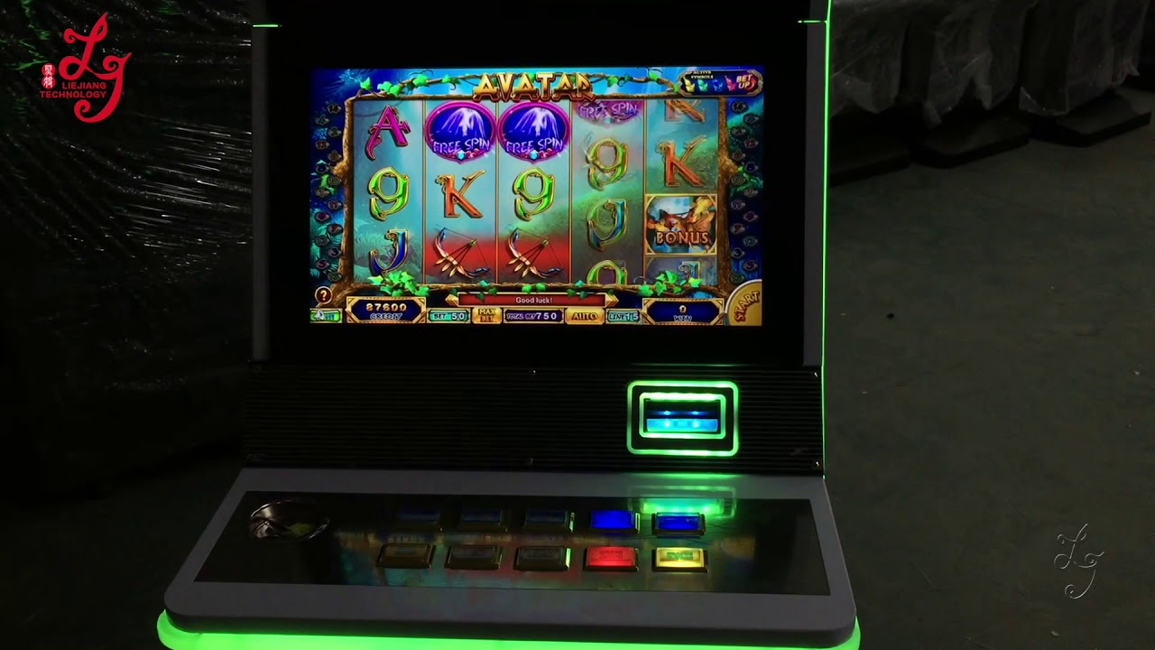 Avatar Video Slot Jackpot Casino Gambling Games Machines Cabinet Low PCB  Board Price For Sale