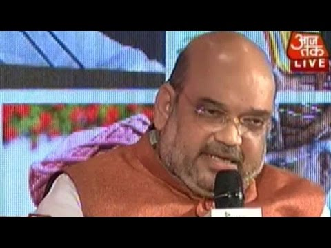 Aaj Tak Manthan: Amit Shah On Year One Of Modi Government (Part 2)