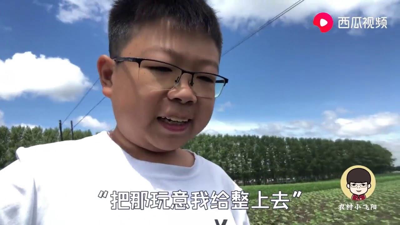 农村小飞阳:农民小伙搞出了啥名堂?脑瓜灵机一动,轻松解决创业大问题