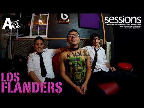 Live Session. Los Flanders – Ana @Bulevard Records Mexico Ci