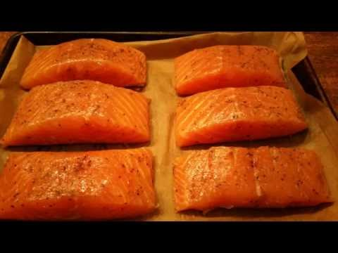 Awesome Salmon Filet Oven Broiled In 7 Minutes