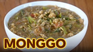 Super Easy Monggo Recipe | Tipid Sarap Monggo na May Kangkong at Hibi