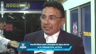 Amarílio Ribeiro pede a drenagem das águas pluviais na Av. Raimundo Alves, em Flores