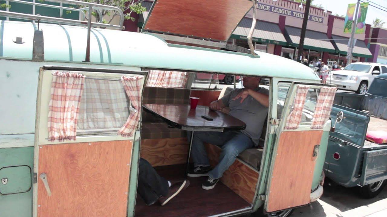 Vw Bus Van Show Long Beach At 4th Street West Coast Repair