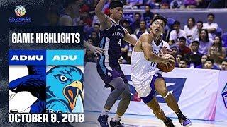 ADMU vs. AdU - October 9, 2019 | Game Highlights | UAAP 82 MB