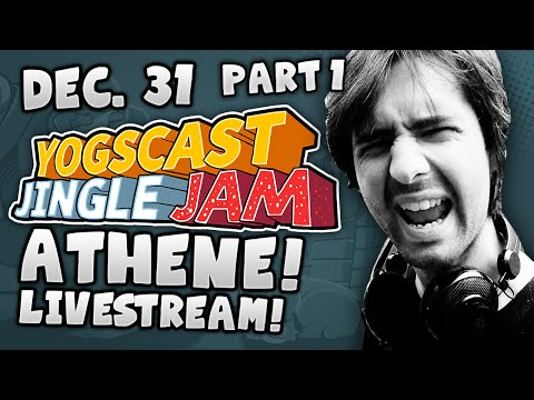 Yogscast Jingle Jam - Athene on New Years Eve - Part 1