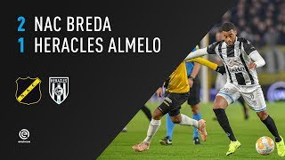 NAC Breda - Heracles Almelo | 03-11-2018 | Samenvatting