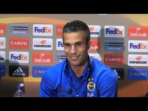 Robin van Persie Full Pre-Match Press Conference - Manchester United v Fenerbahce - Europa League