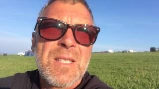 vlog 27 Mt Folly Farm Camp Site Bigbury SWCP 29 May 16