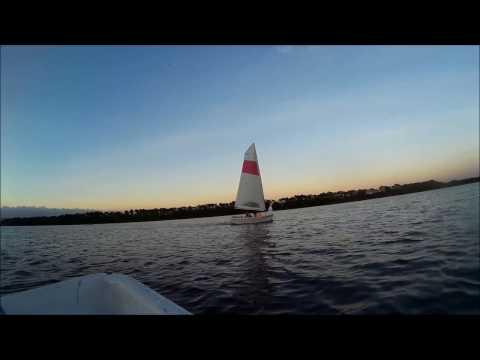 เล่นเรือใบ Walker Bay ศูนย์กีฬาทางน้ำบึงหนองบอน[Walker Bay @NongBon water sport center]
