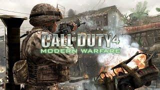 Видео обзор игры — Call of Duty 4 Modern Warfare. Четвертая часть сериала Call of Duty.
