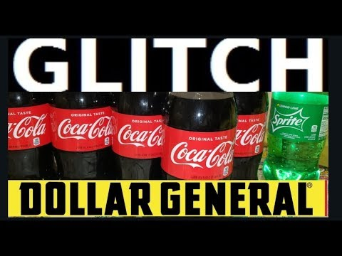.50 Cent Coca Cola😋Glitch Run!!🏃🏽♂😉Couponing This Week At Dollar General No $5 Off $25 Needed😁