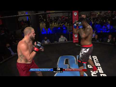 HRMMA 116 Fight 5 Maurice Yarbrough vs Daniel Dennison Heavyweight Ammy