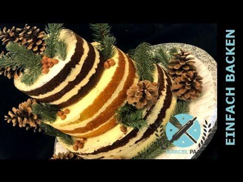 Naked Cake Wald Hochzeitstorte Super Schon Und Einfach Youtube