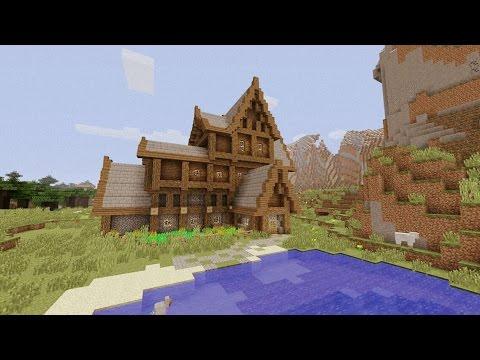 Come costruire la casa ideale su minecraft youtube for Case belle su minecraft