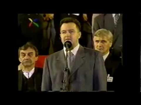 """""""Фанатични"""" говор Ивице Дачића, 2000. """"Fanatični"""" govor Ivice Dačića, 2000."""