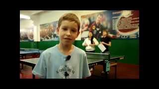 Настольный теннис привлекает больше детей