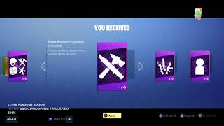 PS4 Fortnite Save The World Ultimate Upgrade Pack (Purchased via PS store )