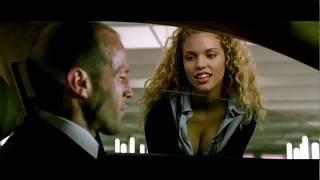 Френк Проучил Шпану на Парковке ... отрывок из фильма (Перевозчик 2/The Transporter 2)2005