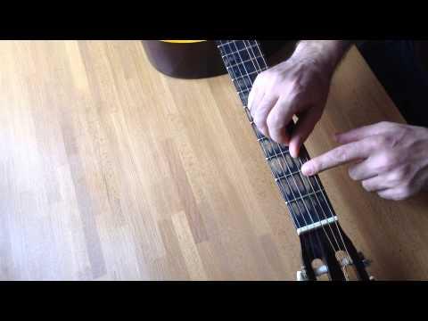 Классическая гитара. Как экономить нейлоновые струны?