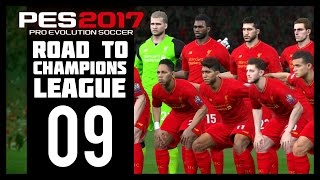 Pro Evolution Soccer 2017 - Liverpool Road To Champions League - Part 9 (PES 2017 - PS4)
