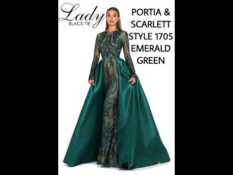 portia-&-scarlett-style-1705-emerald-green-lady-black-tie