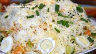 Салат с пекинской капустой, оригинальный рецепт, 482 развлечения для ума!