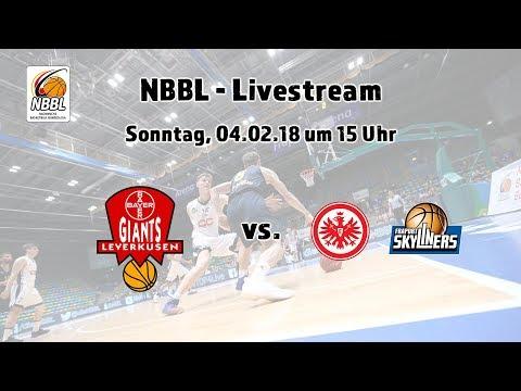 NBBL TSV Bayer 04 Leverkusen - Eintracht Frankfurt / FRAPORT SKYLINERS