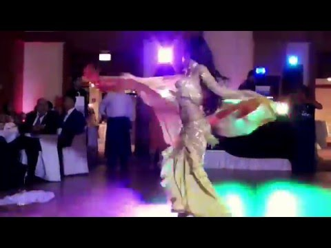 *Isabella Belly Dance Performance at a Turkish/Arabic Wedding 2015 HD