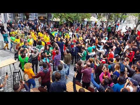 Brazilian street party