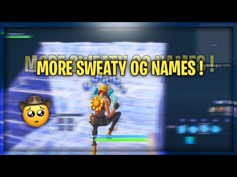 50 + MORE CLEAN FORTNITE NAMES ( NOT USED)🤠