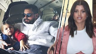 Sofia Richie NOT HAPPY about Scott Disick And Kourtney Kardashian Traveling Together To NYC!