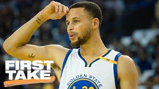 Has Steph Curry Been Underrated This Season? | First Take | March 30, 2017